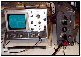 BK Precission 15 MHz Oscilloscope Model 1477