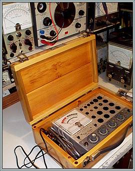 Accurate Instrument Model 257 Tube Tester Project