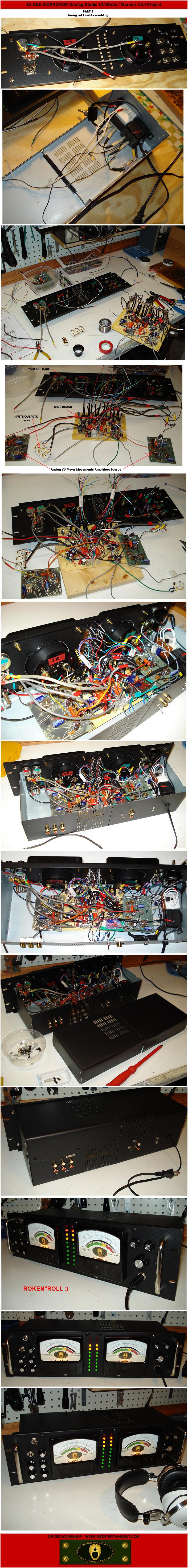 mze electroarts entertainment mzentertainment com dr zeedr zee workshop studio vu meter monitor schematic diagram · dr zee workshop studio vu meter monitor main board layout